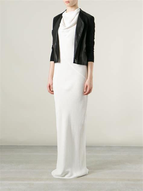 Jumpsuit Denia 1 lyst rick owens draped dress in white
