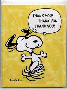 thank you cards for thanksgiving thank you snoopy thanksgiving www galleryhip com the