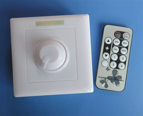 remote control dimmer light switch remote control led light dimmer switch 90 240v post cut