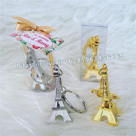 Ganci Menara Eifel gantungan kunci menara eifel