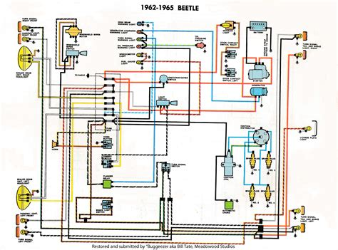 1967 vw beetle fuse box diagram wiring diagram schematic