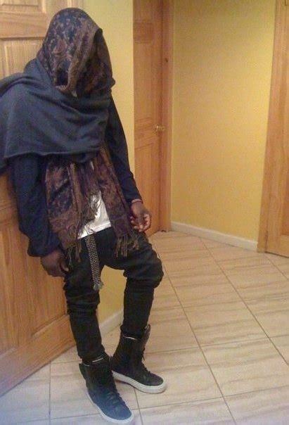 Pashmina Denim Umama Scarf prince damien h m pashmina demeulemeester scarf zara diesel softrock bdg