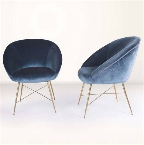 Velvet Chairs by 17 Best Ideas About Blue Velvet Chairs On