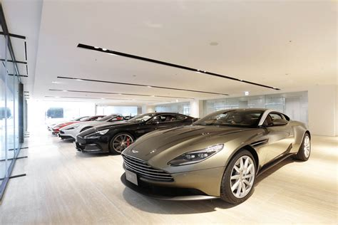 aston martin dealership aston martin s latest dealership will be its largest