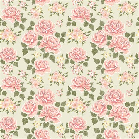 pink vintage rose pattern stock vector 169 kolobock 41922237