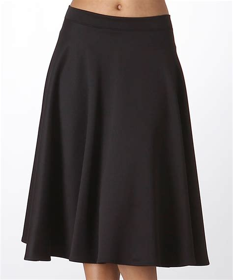 Find Line A Line Skirt Black Free