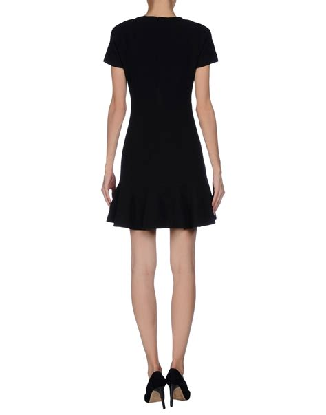 Beckham Dress lyst beckham dress in black