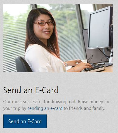 How To Send E Gift Cards - how to send a gift of education e card worldstrides