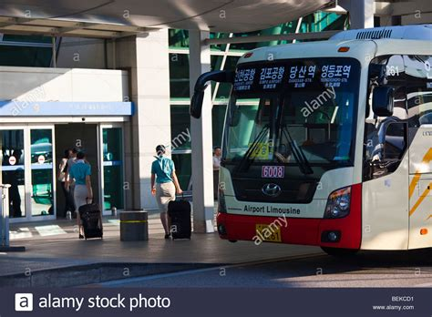 by bus from incheon airport south korea korea4expats airport express bus at incheon international airport in
