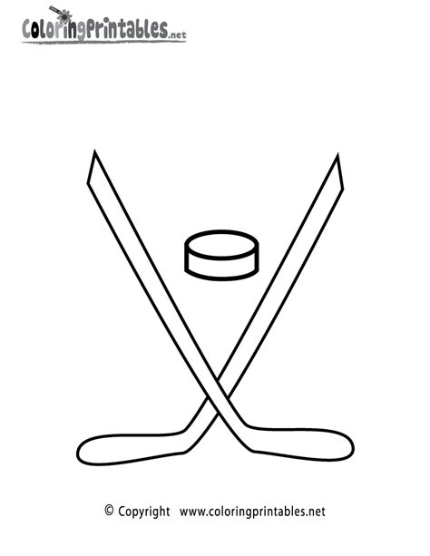 printable hockey images hockey coloring page a free sports coloring printable