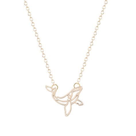 min1pc brand whale necklace orca necklace nautical