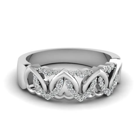 Wedding Bands With Hearts by Wedding Bands Wedding Rings For Fascinating Diamonds