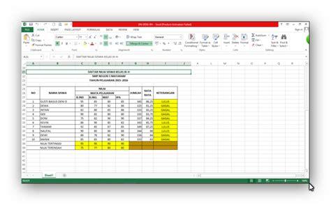 membuat kuesioner menggunakan excel download cara membuat daftar nilai menggunakan ms excel