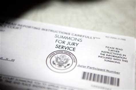 Jury Service Letter Envelope Wksu News Haul Trials Demand Concentration