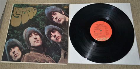 capitol rubber st popsike beatles rubber soul us stereo capitol st
