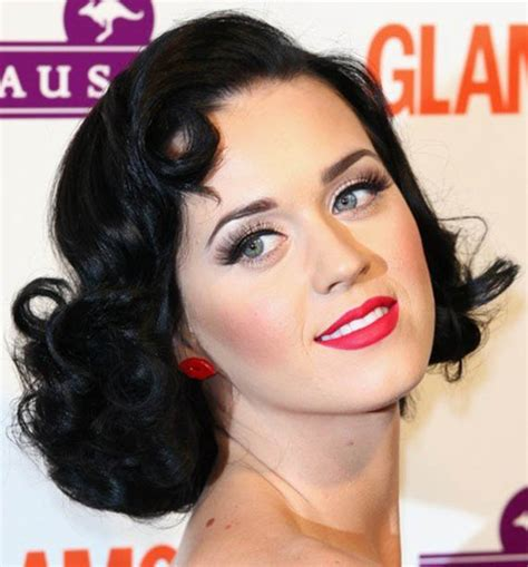 hairstyles from the 50s katy perry 50s bob hairstyle the trends in