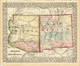 Arizona New Mexico Map by Pics Photos Road Map Arizona New Mexico