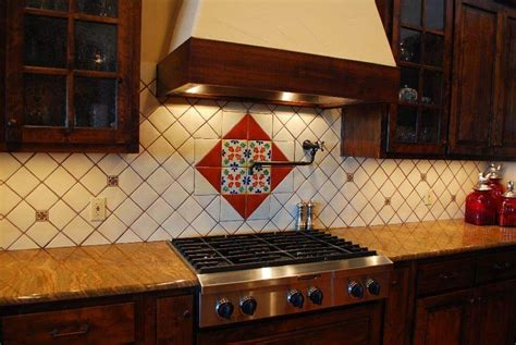mexican tiles for kitchen backsplash mexican tile backsplash kitchen