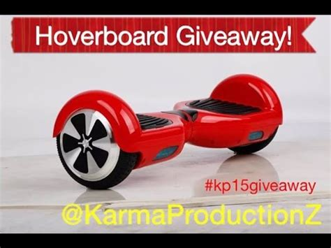 Free Hoverboard Giveaway - hoverboard giveaway augustl 2016 youtube