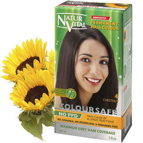 best hair colour shoo uk ppd free coloursafe chestnut no 4 hair dye naturvital