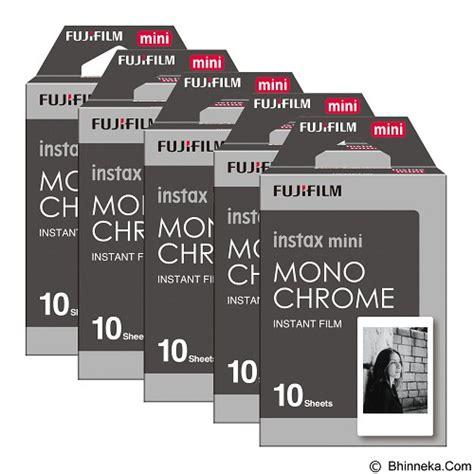 Kertas Polaroid Fujifilm Mini Intak Paper jual fujifilm instax paper monochrome five pack murah bhinneka