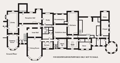 highclere castle floor plan upstairs except the kyles and western isles duncraig castle
