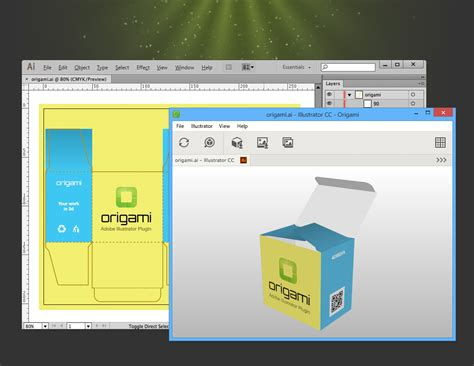 Origami Plugin - adobe photoshop how to convert 2d product packaging net