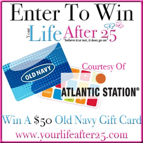 Old Navy E Gift Card - enter yourlifeafter25 226 178 s 50 old navy gift card sweep courtesy of