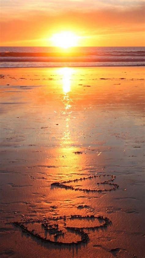 romantic beach romantic sunset beach galaxy s6 wallpaper galaxy s6