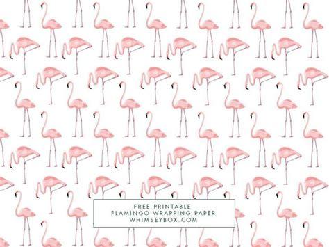 printable wrapping paper pdf free printable flamingo gift wrap diy craft kits