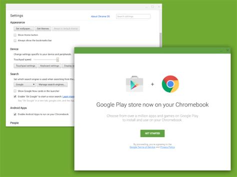 how to run android apps on chromebook play store is coming to chromebooks chrome story