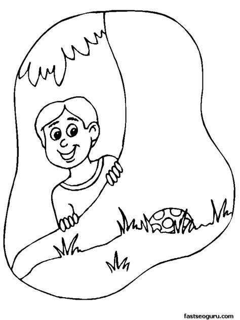 boy easter egg coloring pages printable happy easter boy hunting for eggs coloring pages