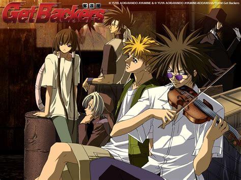 get backers getbackers anime wallpaper 33709132 fanpop