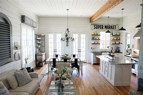Ideas For Small Dining Rooms enchanting farmhouse design in the heart of texas by