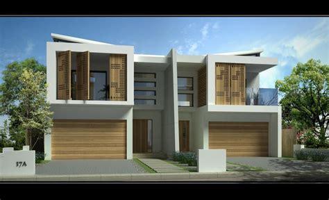 Contemporary Duplex House Plans by Sandringham New Duplex Jr Home Designs Australia