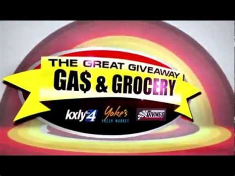 News Channel 5 Grocery Giveaway - the great gas grocery giveaway youtube