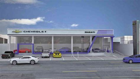 new generation chevrolet dealership to rise in makati