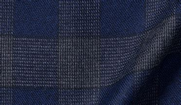 Kemeja Flanel Tartan Navy Grey canclini navy and grey plaid beacon flannel dress shirt by proper cloth