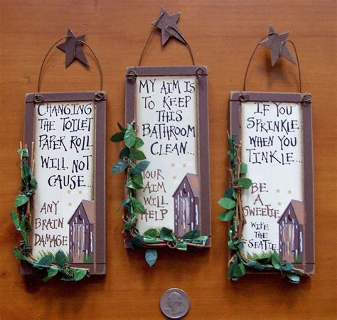 country bathroom wall decor 3 outhouse wood primitive bathroom signs wall decor with