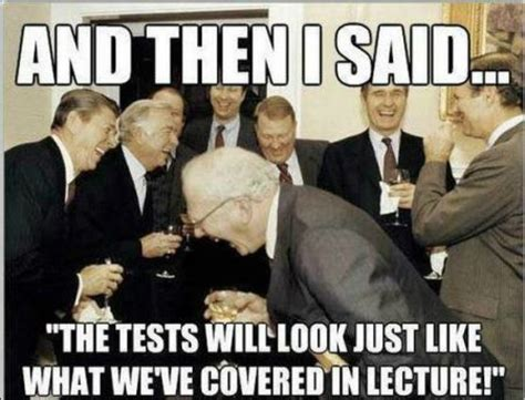 College Test Meme - recreational monday a few chuckles in between tasks
