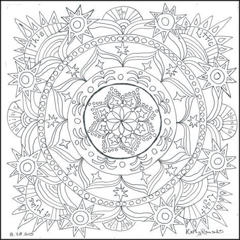 mandala coloring book chapters 15 best coloring images on