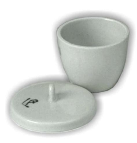 Cawan Krusible 50 Ml high form 50 ml crucible with lid