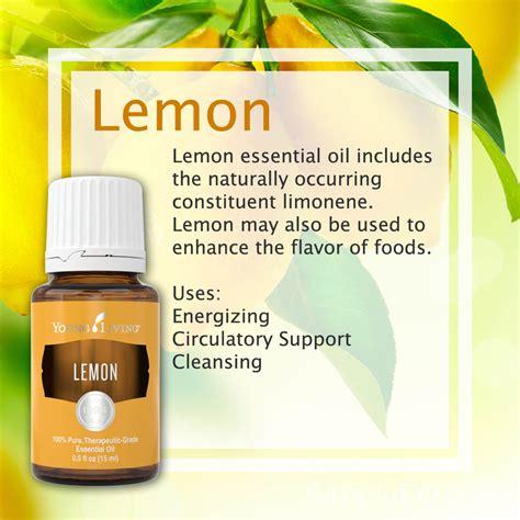 Living Essential Oils Lemon Detox by Lemon Essential By Living Simply Essential Oils