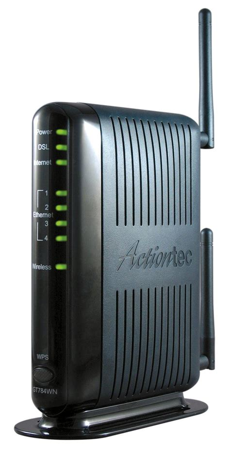 Modem Dsl Wifi actiontec 300 mbps wireless n adsl modem router gt784wn electronics