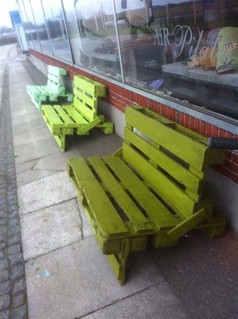 pallet benches pinterest paller reciclando palets y cajas de madera pinterest