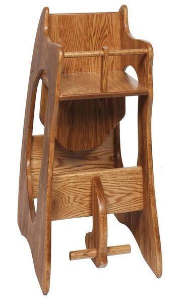 highchair rocker  desk wide