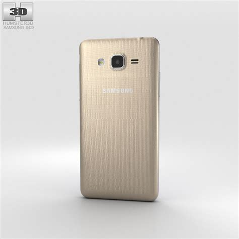 Samsung J2 Prime Gold samsung galaxy j2 prime gold 3d model hum3d