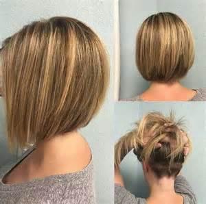 back view of womens hairstyles with clippered back neue frisur stil ziemlich kurzen bob frisuren 2016 neue