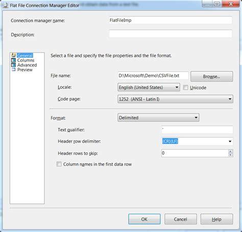 csv format as table bcp in csv file sql server