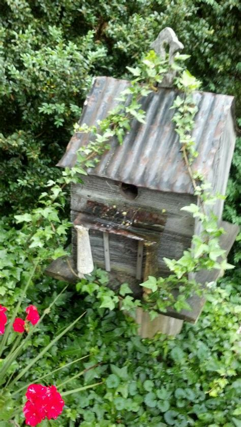 bird house outdoor crafts